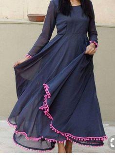 Indian Designer dress cotton maxi dress lehenga choli  salwar suit kameez gown heavy party wear lehe