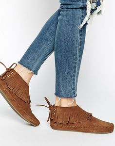 be64b140a2f Park Lane Fringe Suede Ankle Boots Womens Boots On Sale