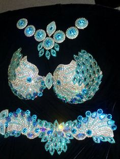 Embroidery bellydance set