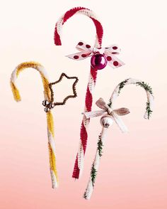 Christmas - Easy Pipe Cleaner Candy Canes