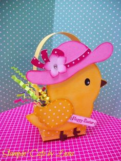 """I added """"Stampin' Cafe by Lana: Mama Chick Easter Basket"""" to an #inlinkz linkup!http://stampincafebylana.blogspot.com/2015/03/mama-chick-easter-basket.html"""