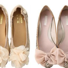 A pair of great flats are key for the days your feet need a break from heels. I love the soft, elegant bows on these.