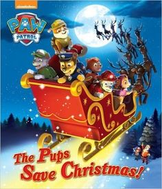 Read The Pups Save Christmas! (Paw Patrol) (Big Golden Book) children book by Golden Books . It's up to the pups of Nickelodeon's PAW Patrol to save Christmas in Adventure Bay! Boys and girls ages 3 to 7 will get Paw Patrol Books, Paw Patrol Pups, Christmas Puppy, Christmas Books, Christmas Eve, Christmas Ideas, Christmas Presents, Michael Christmas, Christmas Goodies