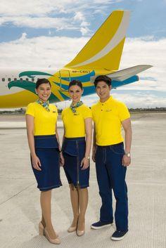 Cebu Pacific cabin crew uniform