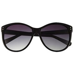 Vince Camuto Stud Corner Drama Sunglasses ($85) ❤ liked on Polyvore featuring accessories, eyewear, sunglasses, glasses, lentes, vince camuto glasses, vince camuto, studded sunglasses, studded glasses and vince camuto eyewear