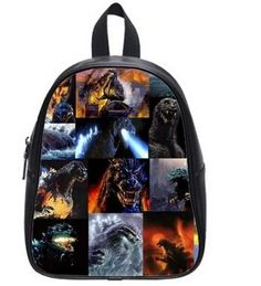 246642e1cc Large Size Godzilla Bag Printing Shoulders Backpack Custom High School  Students Backpack for Travel or Party -- Continue to the product at the  image link.