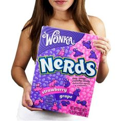 When it comes to candy who says bigger is not better? How about this World's Largest Box of Nerds Candy huh? We are talking 1 and pounds of strawberry-and Cool Gifts, Unique Gifts, Nerds Candy, Giant Candy, Sugar Candy, Willy Wonka, Cool Inventions, Candy Gifts, Candy Store