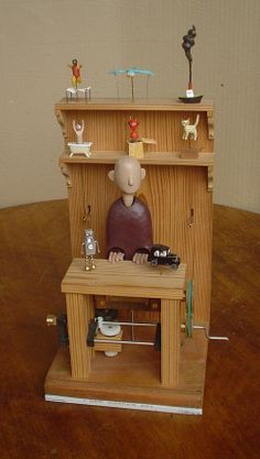 Paul Spooner: A Cheap Automata Shop