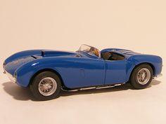 Ferrari 375 MM plus 1954 1:43 Top model collection Blue - Speelgoedenverzamelshop.nl