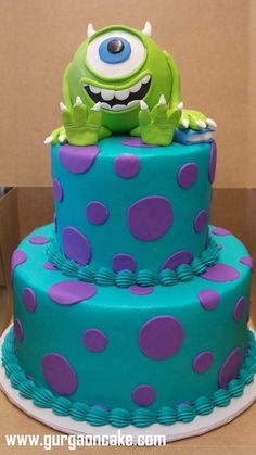 Best Monster inc cakes ideas on Pinterest