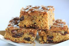 Poor Man's Cookies - An old family recipe for spiced bar cookies full of plump raisins and walnuts. Cookie Recipes, Dessert Recipes, Bar Recipes, Yummy Recipes, 9x13 Baking Pan, Man Cookies, No Bake Brownies, Spice Cake, Brownie Bar