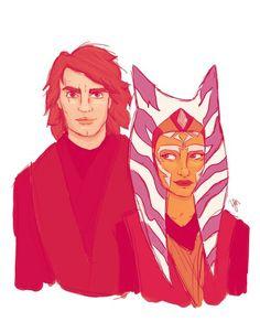 If Ahsoka had stayed and Anakin had never turned...