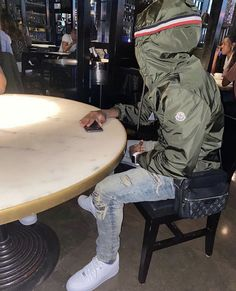 Dope Outfits For Guys, Swag Outfits Men, High Fashion Men, High Fashion Outfits, Mode Streetwear, Streetwear Fashion, Thug Style, Just Beautiful Men, Stylish Men