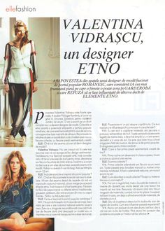 elle_martie_2011-2 Romanian Women, Peasant Blouse, First Time, Folk, Traditional, Celebrities, Celebs, Popular, Forks