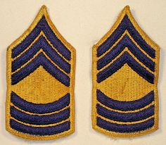 ARMY GREEN 1 PAIR US ARMY PFC RANK E-3