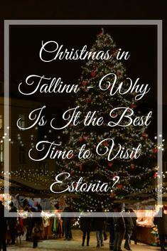 """Christmas is our favorite time of the year, so heading on our adventure at the end of November to explore the Baltic States, we were excited and """"hopeful"""" that many of these countries would already have the Christmas festivities up and running. #Christmas #Tallinn #Estonia via @heatherboothman"""