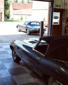 A rare colour, two Opalescent Dark Blue Series 1 OTS E-Types. #jaguar #etype #classicjaguar #jaguaretype #supercar #sportscar #car #beautiful #forsale #carforsale #jaguarforsale #classiccarforsale #classic #cars #classsiccar #drivetastefully #petrolicious #series1 #series2 #series3 #V12 #british #britishindustry #carsofinstagram #exotic #luxury #exoticcar #exoticcars #coolcars