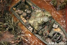 Plastic Model Kits, Plastic Models, Fallout 4 Settlement Ideas, Brown Water Navy, Military Insignia, Star Wars Pictures, Military Modelling, Military Diorama, Boat Design