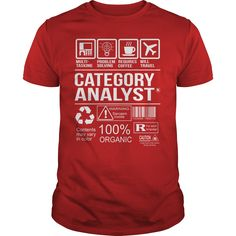 Awesome Tee For Category Analyst T-Shirts, Hoodies. CHECK PRICE ==► https://www.sunfrog.com/LifeStyle/Awesome-Tee-For-Category-Analyst-103344686-Red-Guys.html?id=41382