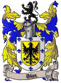 Apellido Diaz en Murcia Uss Hornet, Family Shield, Family Crest, Ferrari Logo, Coat Of Arms, Rooster, Symbols, Culture, History
