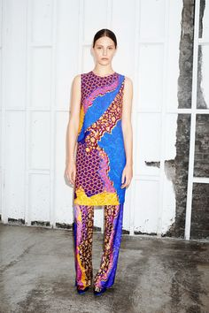 Peter Pilotto Resort 2015 Collection Slideshow on Style.com