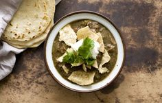 Chile Verde con Carne Beef Green Chili - Homesick Texan