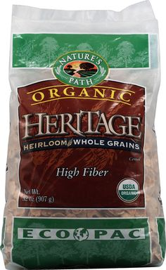 Nature's Path Organic Heritage Heirloom™ Whole Grains Cereal - so good you'll want the extra large eco pack!