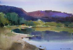 Eugen Kisnichan     Nistru river in the morning