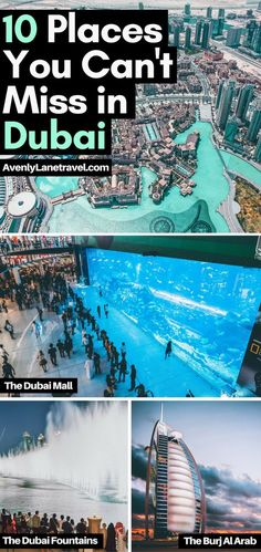 future travel Discover the best places to visit in Dubai! Including some of the most beautiful places in Dubai like the Dubai Miracle Gardens or going on a desert safari ride. Dubai City, Dubai Mall, Cool Places To Visit, Places To Travel, Travel Destinations, Dubai Places To Visit, Dubai Vacation, Dream Vacations, Trip To Dubai