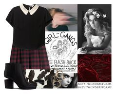 """""""Like Velvet"""" by emma-beattie ❤ liked on Polyvore featuring H&M, Givenchy and Alexander Wang"""