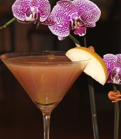 Asian Pear Martinis