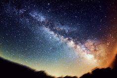 星空 Sky Photos, Milky Way, See It, Night Skies, Northern Lights, Scenery, Heaven, Places, Water