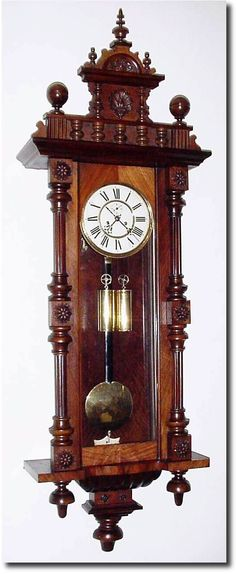 German Antique Clocks | Antique German or Germany Wall Vienna Clock