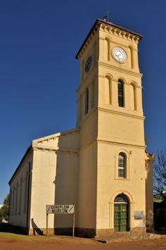 Dutch Reformed Museum church of Aliwal North, Eastern Cape, South Africa. By #PhotoJdB