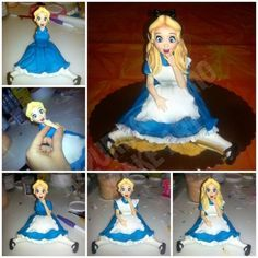 The making of Alice in Wonderland... #2: Body... - CakesDecor