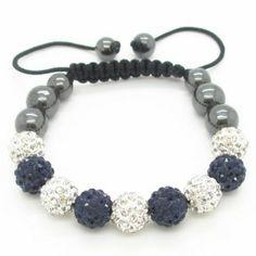 Trendy Graycrystal Shamballa Bracelets