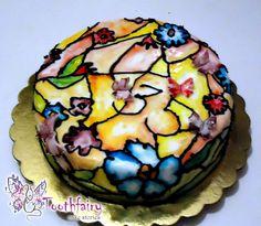 """Vitraux"" cake"