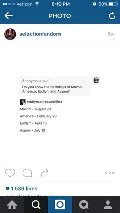 MY BIRTHDAY IS THE SAME AS MAXON'S!!!!!