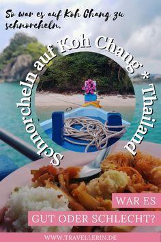 Du planst Deine Reise in Thailand? Dann darf Koh Chang nicht fehlen. Die Thailand Insel ist weniger touristisch als Koh Tao & Co., aber mindestens genauso schön. Auf meinem Blog zeige ich Dir meine schönsten Thailand Reisetipps und verrate Dir Koh Chang Ausflüge. ~ Urlaub Reisen Thailand, Reiseziele in Asien, Koh Chang Thailand, Koh Chang Things to do, koh chang snorkeling In China, Koh Chang, Koh Tao, Frosted Flakes, Food, Sunset Beach, Too Nice, Snorkeling, Essen