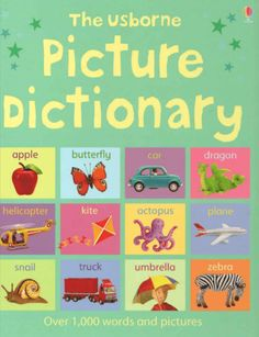 The Usborne Picture Dictionary for Kids English Books For Kids, English Books Pdf, English Lessons For Kids, English Words, English Grammar, English Picture Dictionary, Dictionary For Kids, Dictionary Words, Dictionary Free