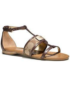 Womens Coach sandals