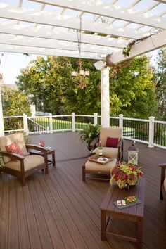 Backyard Pergola Privacy - - Outdoor Pergola With Roof - Pergola Holz Rustikal - Deck With Pergola, Diy Deck, Backyard Pergola, Pergola Shade, Pergola Plans, Pergola Ideas, Patio Ideas, Deck Plans, Outdoor Pergola