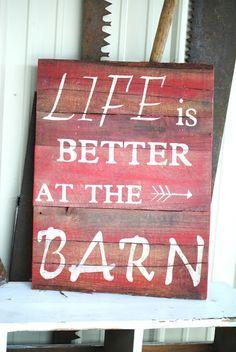 ~Irishman Acres~: Obsessed Much Mondays: Barn Sale Goodies Barnwood sign
