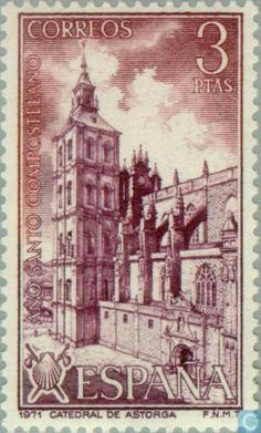 Spain [ESP] - Compostela Holy Year 1971