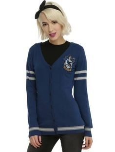 ravenclaw cardigan - $31.15 from Hot Topic((I'm not sure if I actually want this, I'd prefer it to be gray instead of blue.))