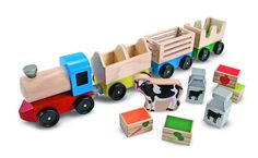 Toy Train Wooden Classic Kids Toddler Animal Educational Christmas Birthday Gift #WoodenClassic
