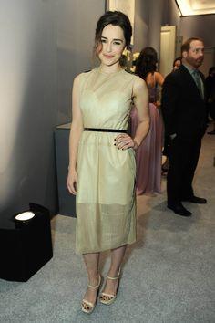 October 21: ELLE's 20th Annual Women In Hollywood Celebration - Inside - 1021 elle inside 10 - Adoring Emilia Clarke - The Photo Gallery