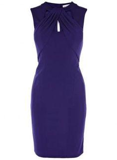 Starry Cut Away Neckline Jersey Purple Dress,  Dress, sexy daily dress lady, Chic