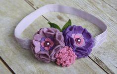 Felt Flower Headband    Felt Flower by BlessingLaneBoutique, $12.00