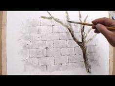 11 시멘트벽 표현하기 - YouTube
